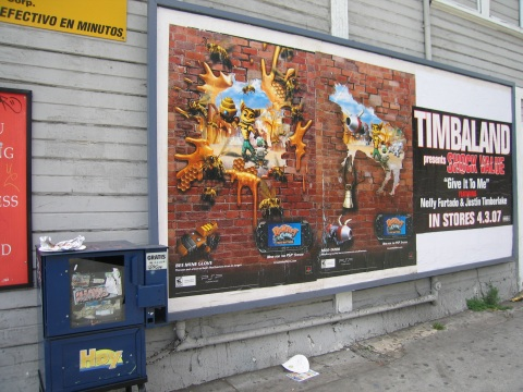 Poster in LA