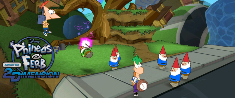 Phineas and Ferb: Across the 2nd Dimension (2011, Wii/PS3)
